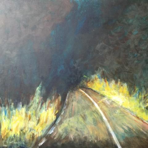 Licht op het pad