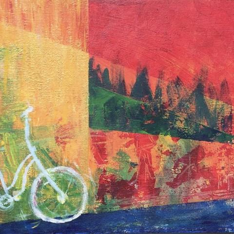 eenzame fiets